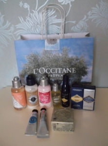 The goody bag!